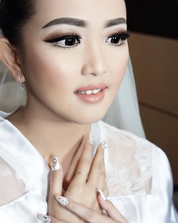 Fierce and bold look wedding Makeup by Dexterite Makeup Artist - 005