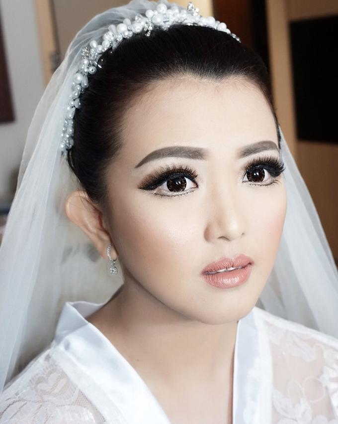 Fierce and bold look wedding Makeup by Dexterite Makeup Artist - 004
