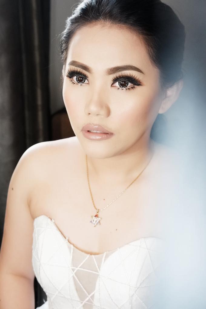 Fierce and bold look wedding Makeup by Dexterite Makeup Artist - 007