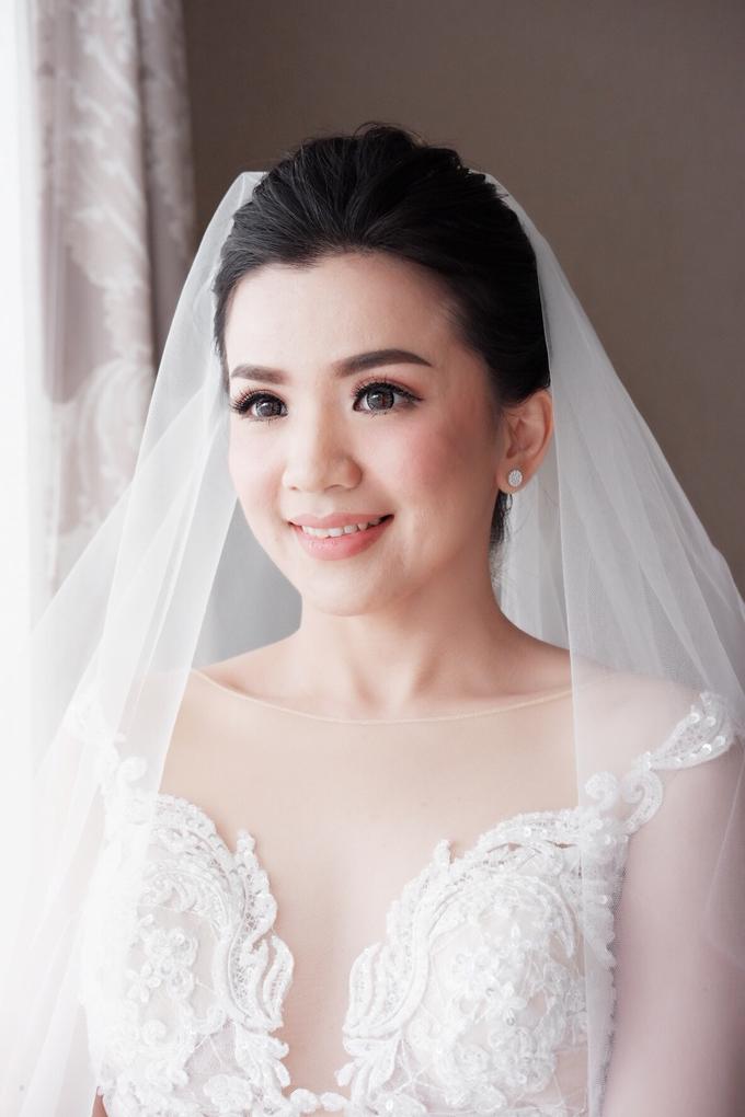 Beautiful Bride Christine by Dexterite Makeup Artist - 001