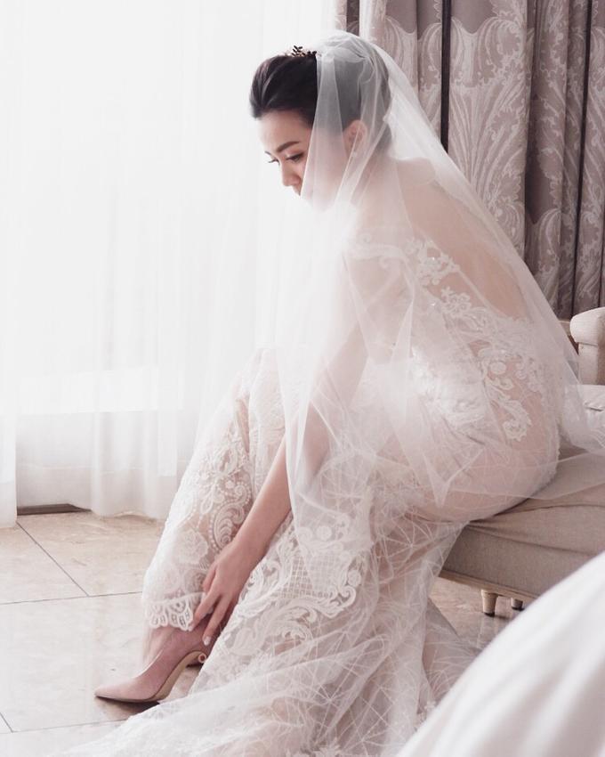 Beautiful Bride Christine by Dexterite Makeup Artist - 003