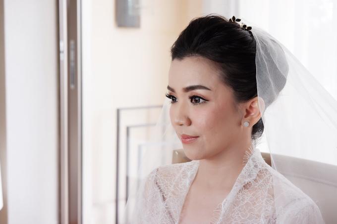 Beautiful Bride Christine by Dexterite Makeup Artist - 006