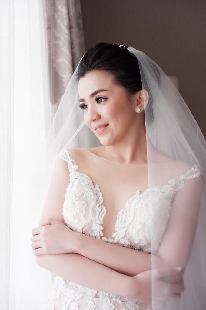 Beautiful Bride Christine by Dexterite Makeup Artist - 007