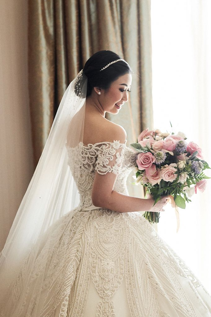 Wedding Of David & Fara by Skenoo Hall Emporium Pluit by IKK Wedding - 004