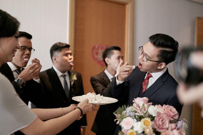 Wedding Of David & Fara by Skenoo Hall Emporium Pluit by IKK Wedding - 005