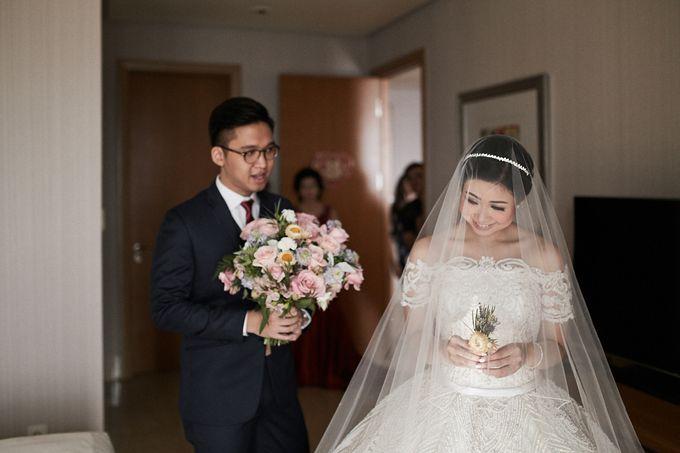 Wedding Of David & Fara by Skenoo Hall Emporium Pluit by IKK Wedding - 006