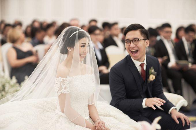 Wedding Of David & Fara by Skenoo Hall Emporium Pluit by IKK Wedding - 001