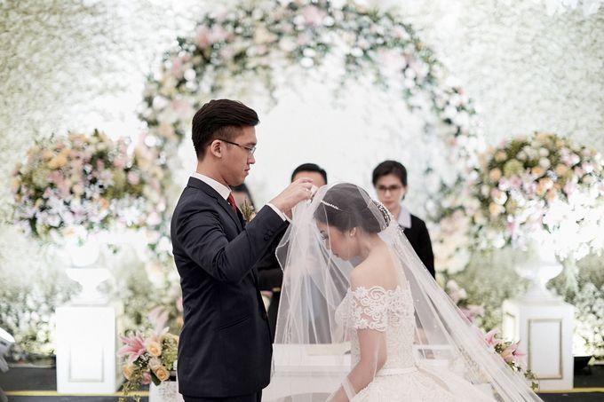 Wedding Of David & Fara by Skenoo Hall Emporium Pluit by IKK Wedding - 002