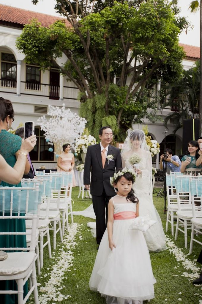 Garden Wedding of Ricky & Inggrid by All Occasions Wedding Planner - 023