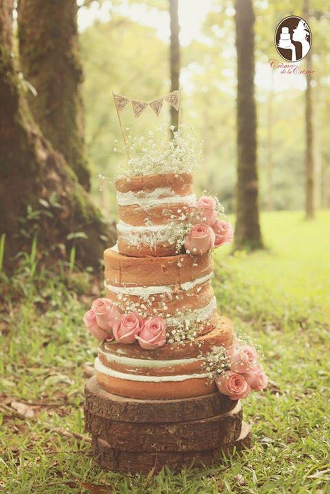 Rustic Wedding Cakes 2015 by Creme de la Creme Bali - 001