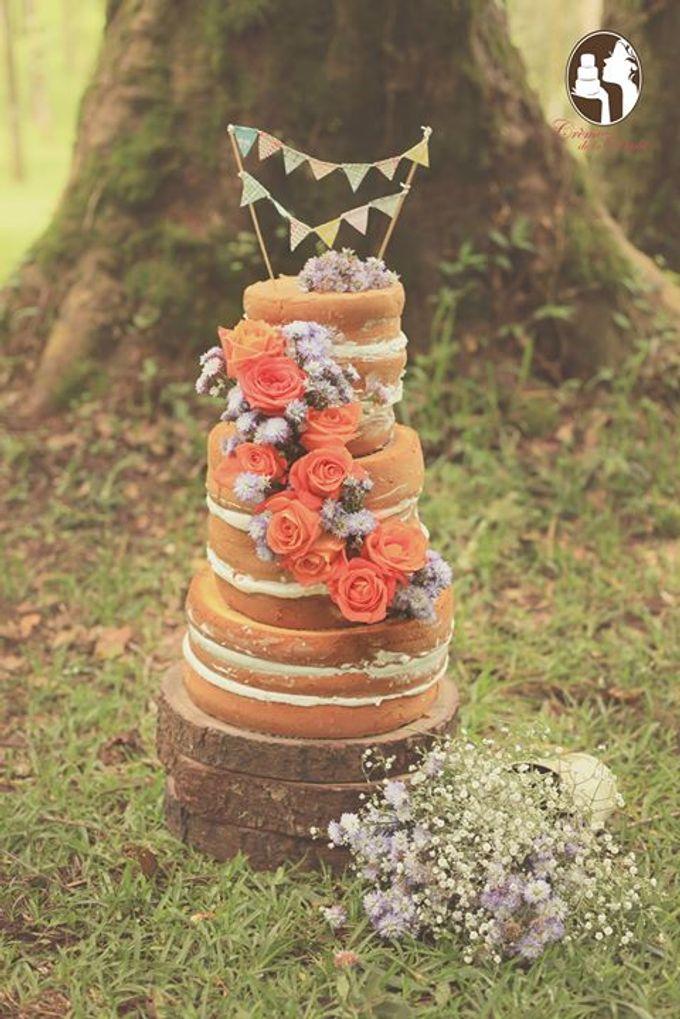 Rustic Wedding Cakes 2015 by Creme de la Creme Bali - 002