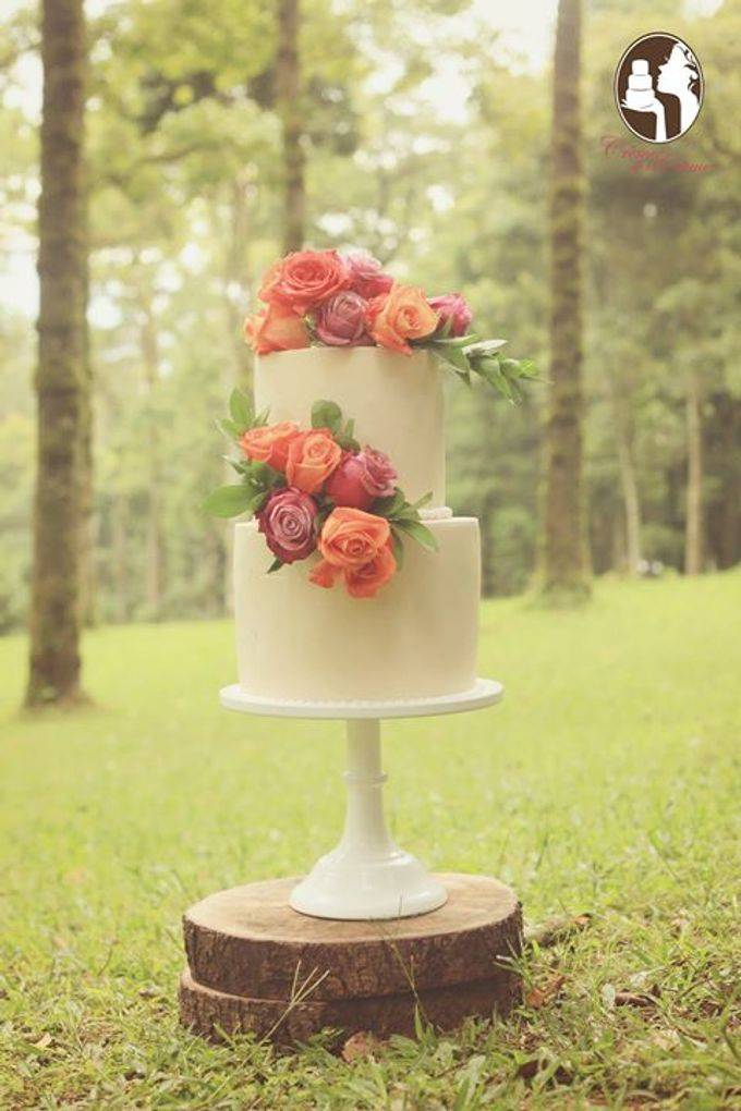 Rustic Wedding Cakes 2015 by Creme de la Creme Bali - 004