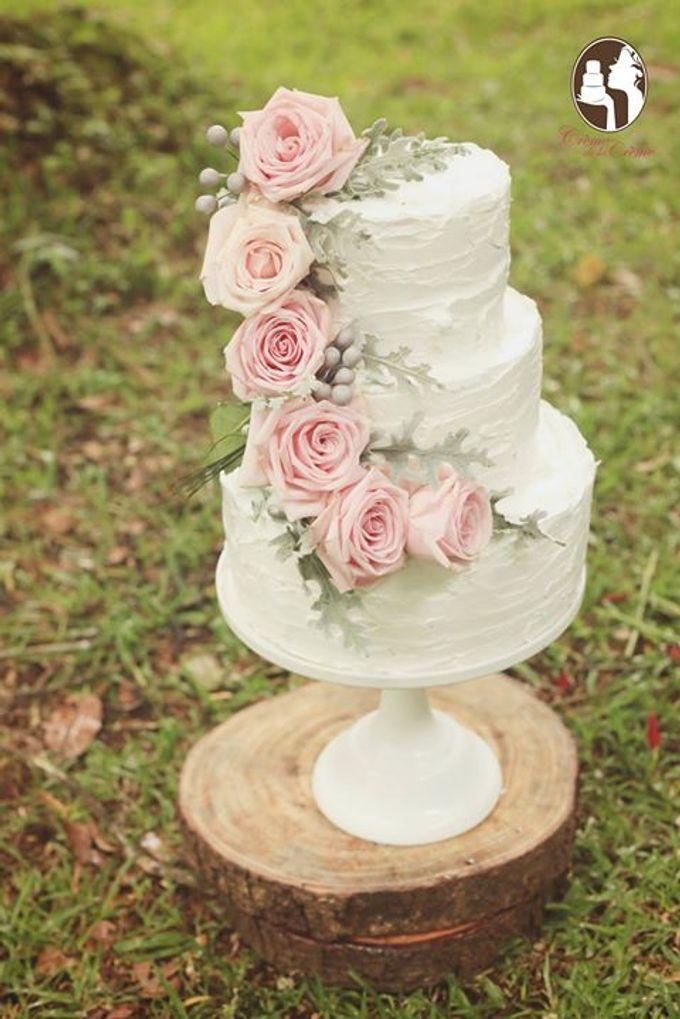 Rustic Wedding Cakes 2015 by Creme de la Creme Bali - 005