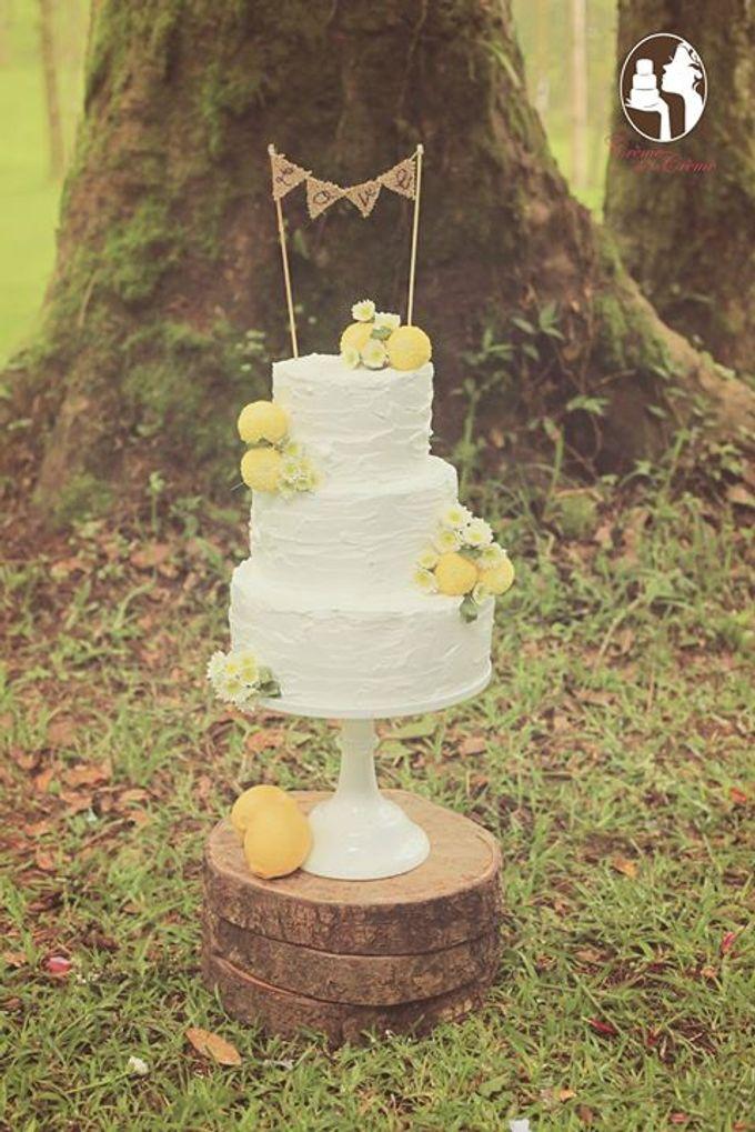 Rustic Wedding Cakes 2015 by Creme de la Creme Bali - 007