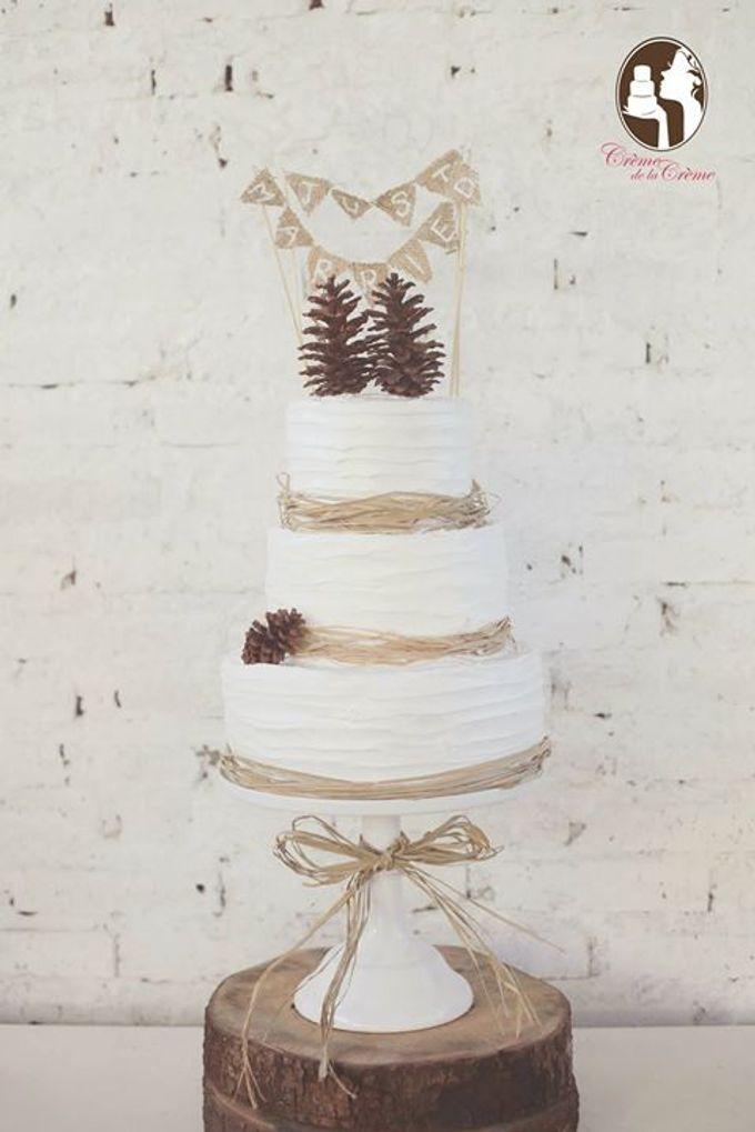 Rustic Wedding Cakes 2015 by Creme de la Creme Bali - 009