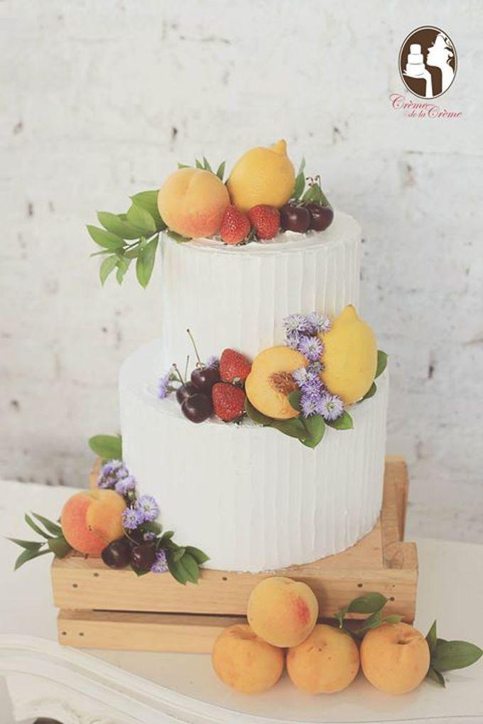 Rustic Wedding Cakes 2015 by Creme de la Creme Bali - 011