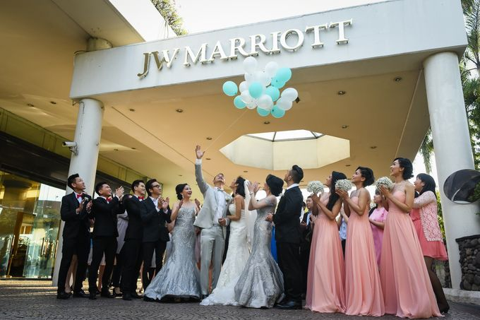 An Amazing Fairy tale Wedding by JW Marriott Hotel Surabaya - 001