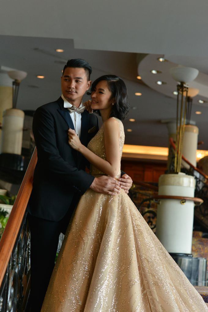 An Amazing Fairy tale Wedding by JW Marriott Hotel Surabaya - 011