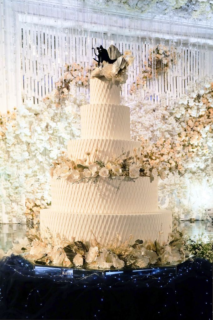 The Wedding of Kenny & Michelle by KAIA Cakes & Co. - 009