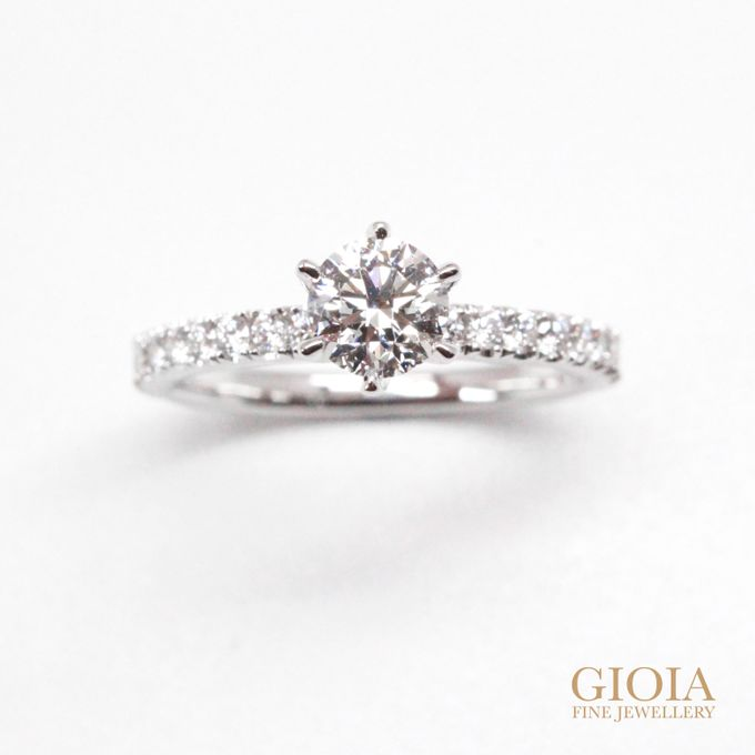 Diamond Solitaire by GIOIA FINE JEWELLERY - 002