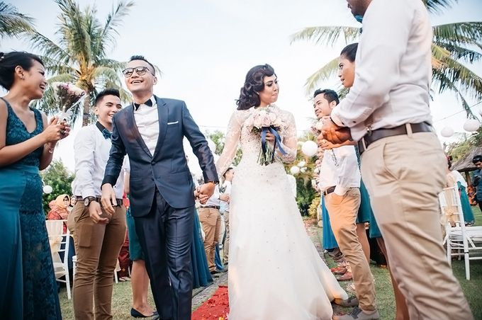 Indonesian Wedding In Bali E&K by Mariyasa - 004