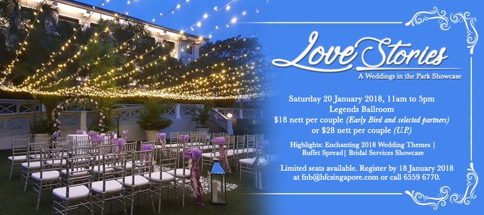 love stories a wedding in the park showcase by hotel fort canning