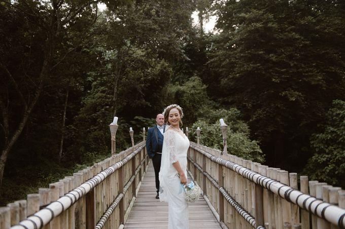 Brett & Belinda Wedding by Sthala, A Tribute Portfolio Ubud Bali by Marriott International - 018
