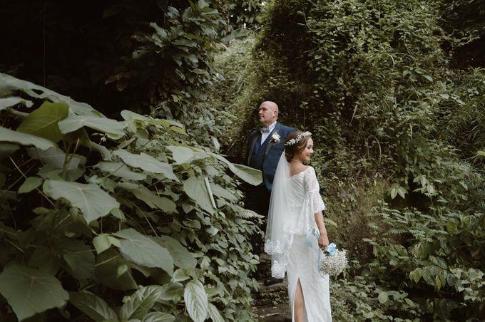 Brett & Belinda Wedding by Sthala, A Tribute Portfolio Ubud Bali by Marriott International - 020