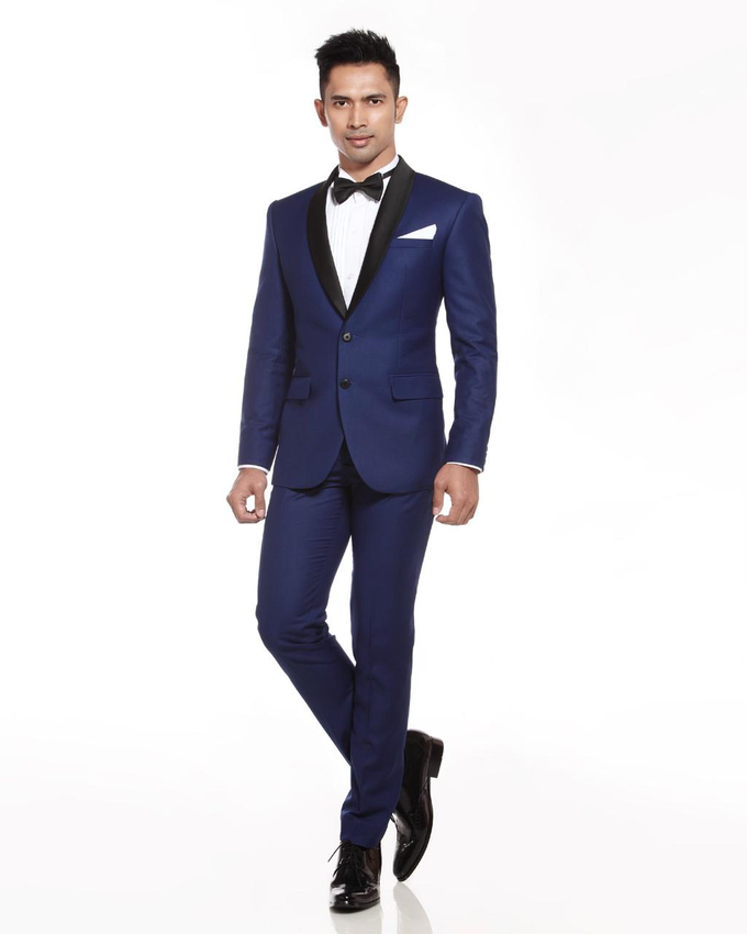 Navy Blue by DIKHA SIGIT,  For Your Suit - 001