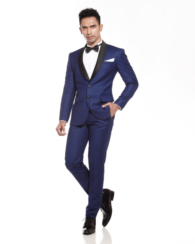 Navy Blue by DIKHA SIGIT,  For Your Suit - 003