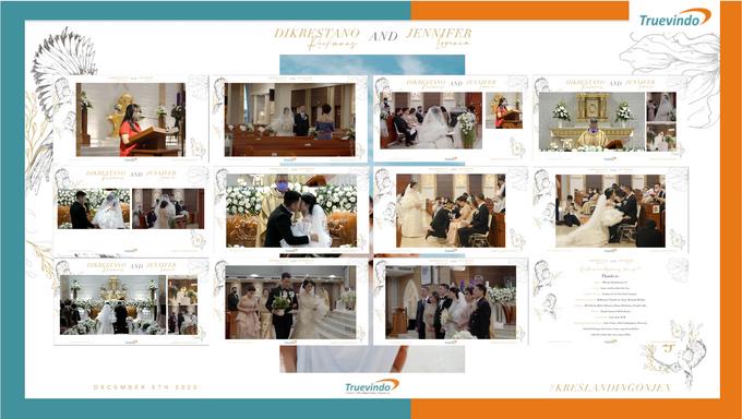 Dikrestano & Jennifer Virtual Online Wedding Live Streaming Holy Matrimony by DERAI - 001
