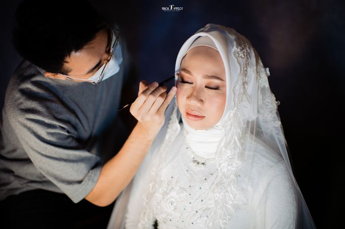 The Wedding of Dini & Sigit by Trickeffect - 011