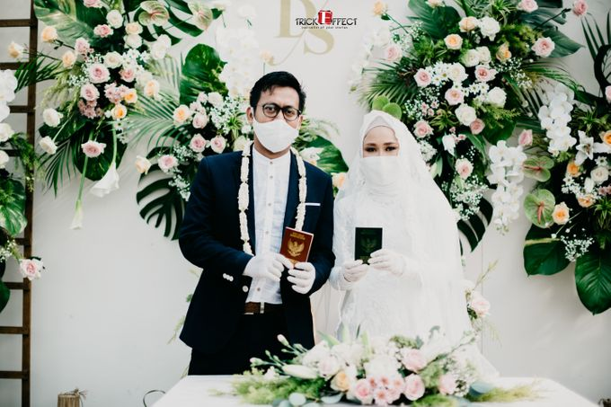 The Wedding of Dini & Sigit by Trickeffect - 021