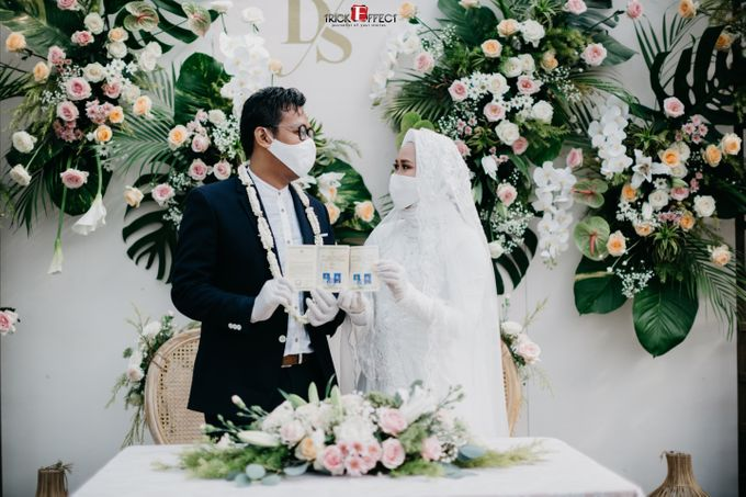 The Wedding of Dini & Sigit by Trickeffect - 023