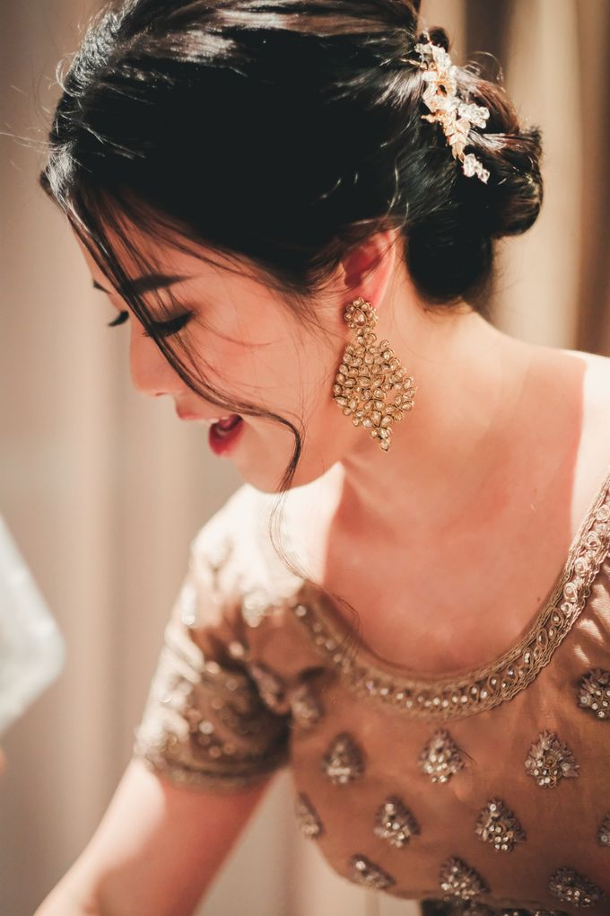 Actual Day Wedding - Indian & Chinese Wedding by Jen's Obscura (aka Jchan Photography) - 001