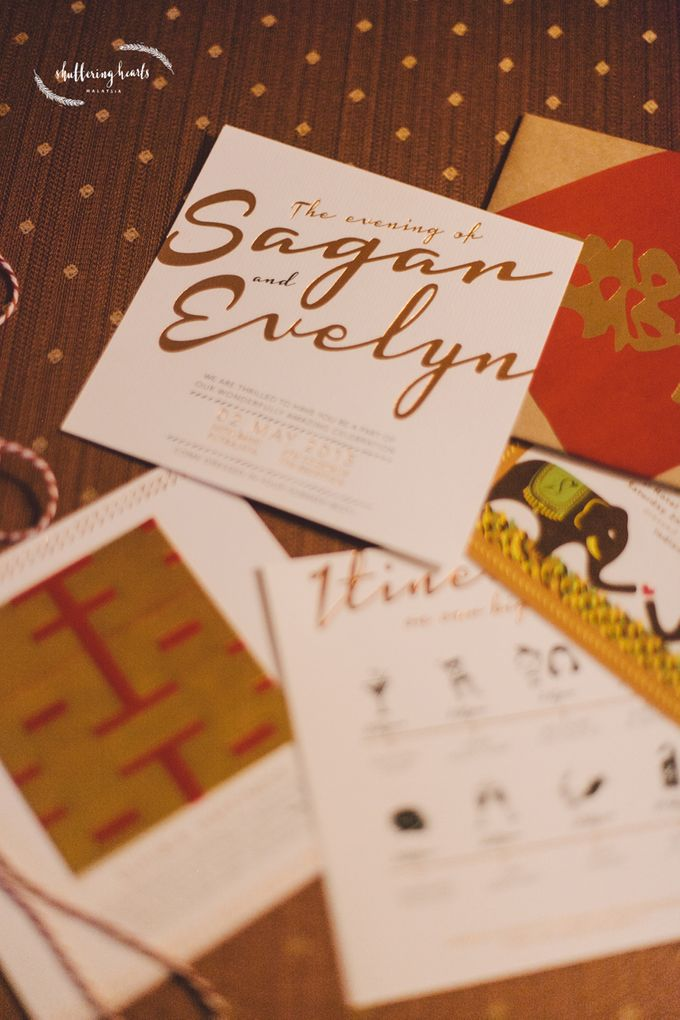 Chinese & Indian Wedding: Sagan & Evelyn by Shuttering Hearts - 001