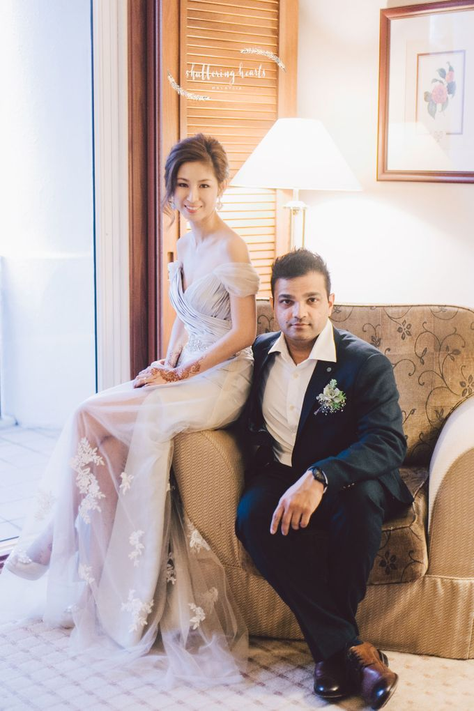 Chinese & Indian Wedding: Sagan & Evelyn by Shuttering Hearts - 032