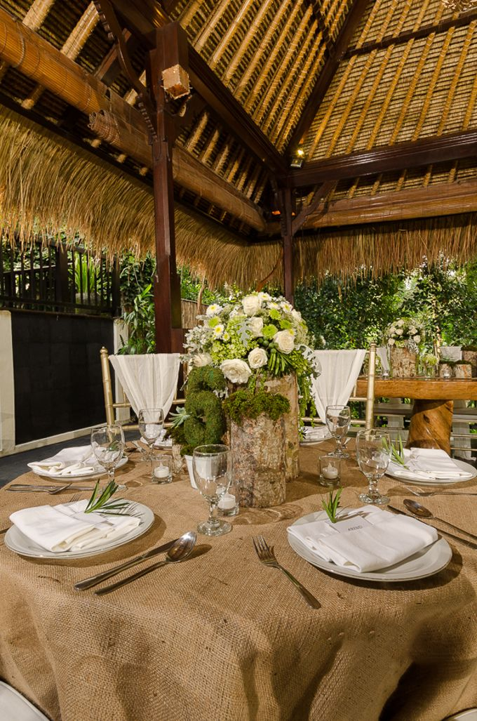 Wedding at The Hidden Palace by Hanging Gardens of Bali - 002
