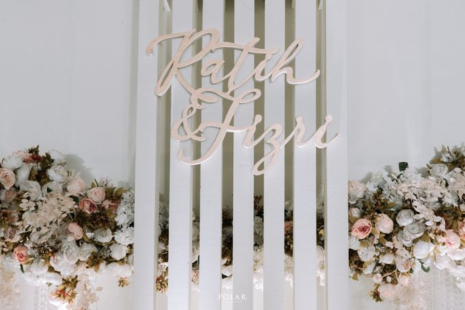 Ratih & Fizry Wedding Decoration by Valentine Wedding Decoration - 038