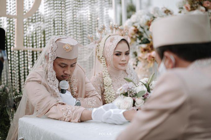 Dyah & Luthfi Wedding Decoration by Valentine Wedding Decoration - 017