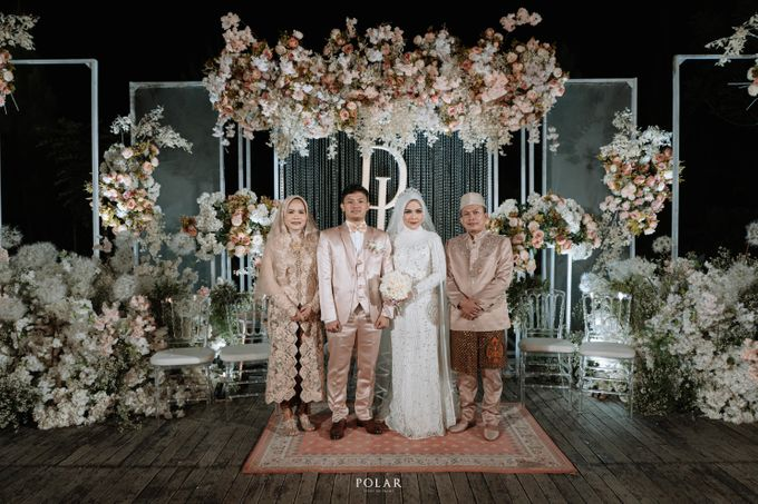 Dyah & Luthfi Wedding Decoration by Valentine Wedding Decoration - 033