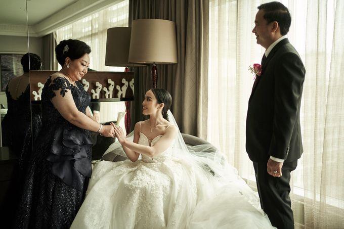 Prosesi Penjemputan Darwin & Jessica by Skenoo Hall Emporium Pluit by IKK Wedding - 006