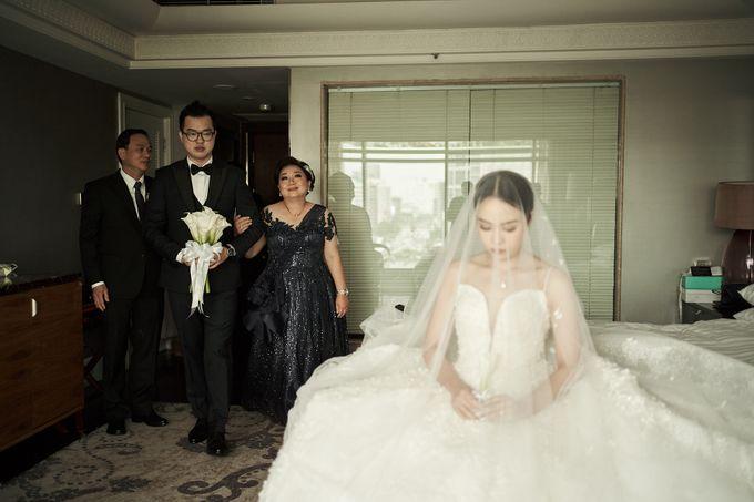 Prosesi Penjemputan Darwin & Jessica by Skenoo Hall Emporium Pluit by IKK Wedding - 007