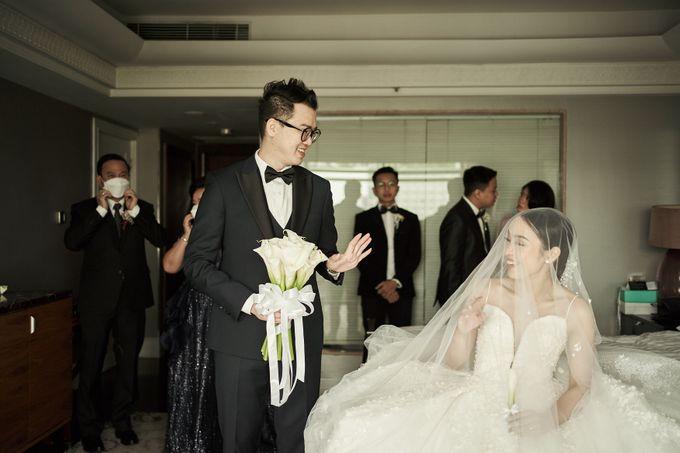 Prosesi Penjemputan Darwin & Jessica by Skenoo Hall Emporium Pluit by IKK Wedding - 008