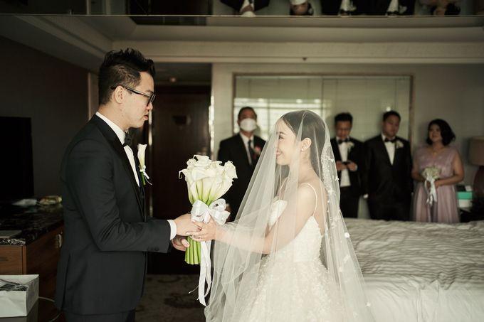 Prosesi Penjemputan Darwin & Jessica by Skenoo Hall Emporium Pluit by IKK Wedding - 001
