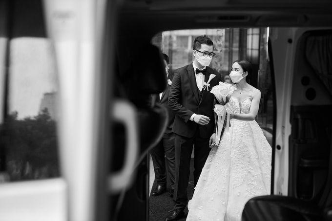 Prosesi Penjemputan Darwin & Jessica by Skenoo Hall Emporium Pluit by IKK Wedding - 009