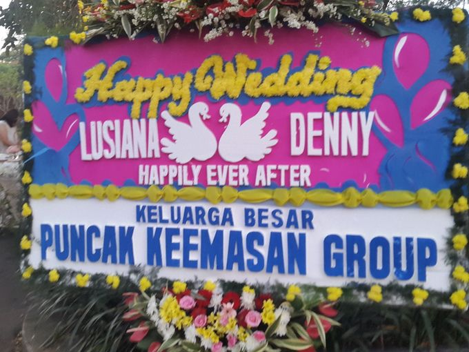 The Wedding Denny Oswaldo & Lusiana Tanudjaja by Red Hat Organizer - 013