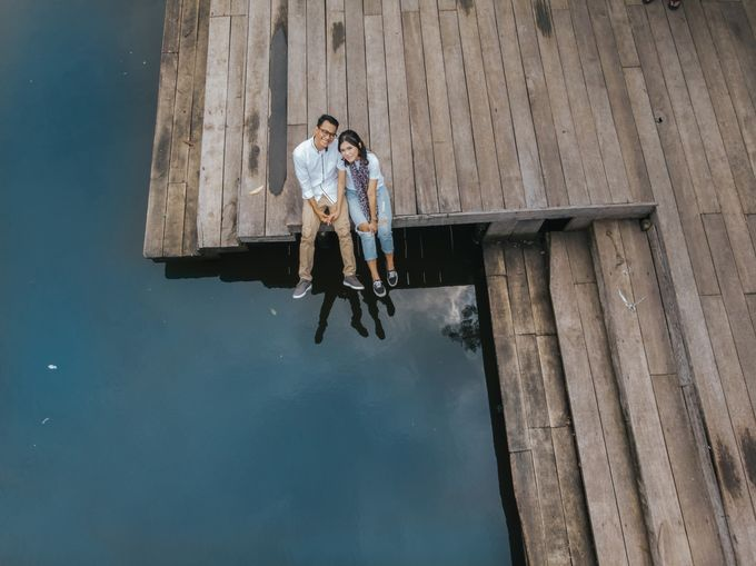 Kamelina & Adhit Prewedding at Pantai Indah Kapuk by GoFotoVideo - 004