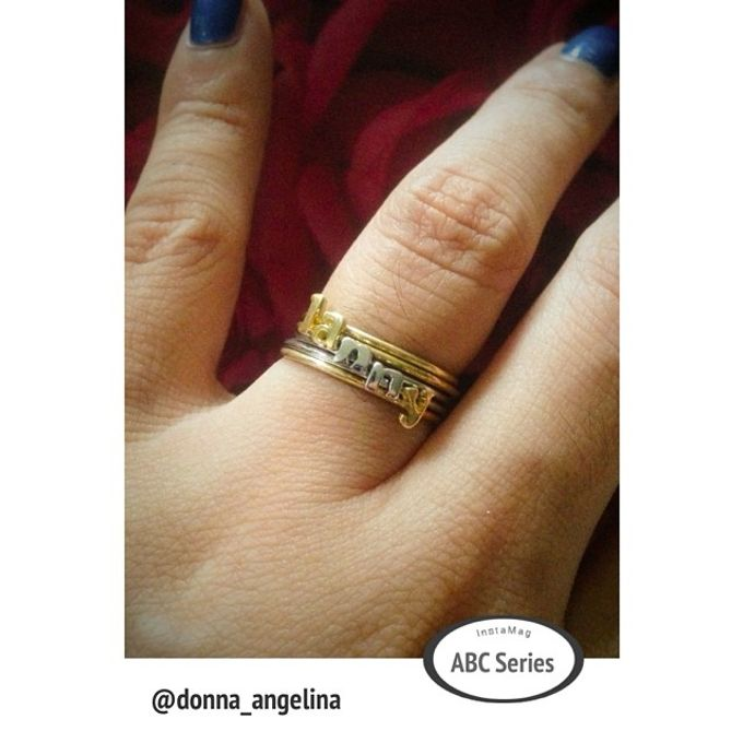 Name & Initial by DA Jewelry - 037