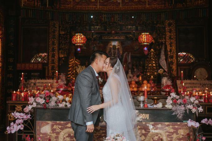Steven & Catherin Wedding at Aston Cirebon by PRIDE Organizer - 008